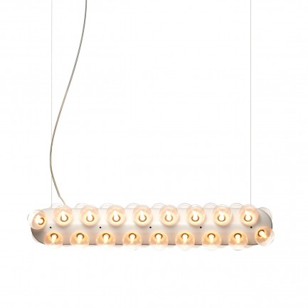 Prop Light Double Horizontal suspension lamp